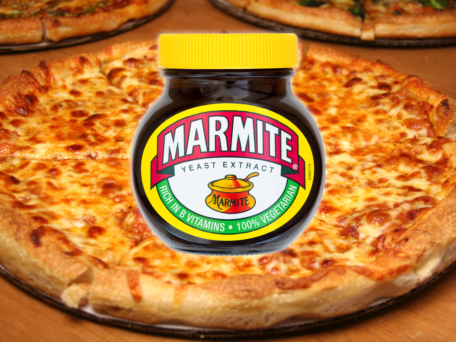 I Tried Papa John's Marmite-Stuffed Crust Pizza
