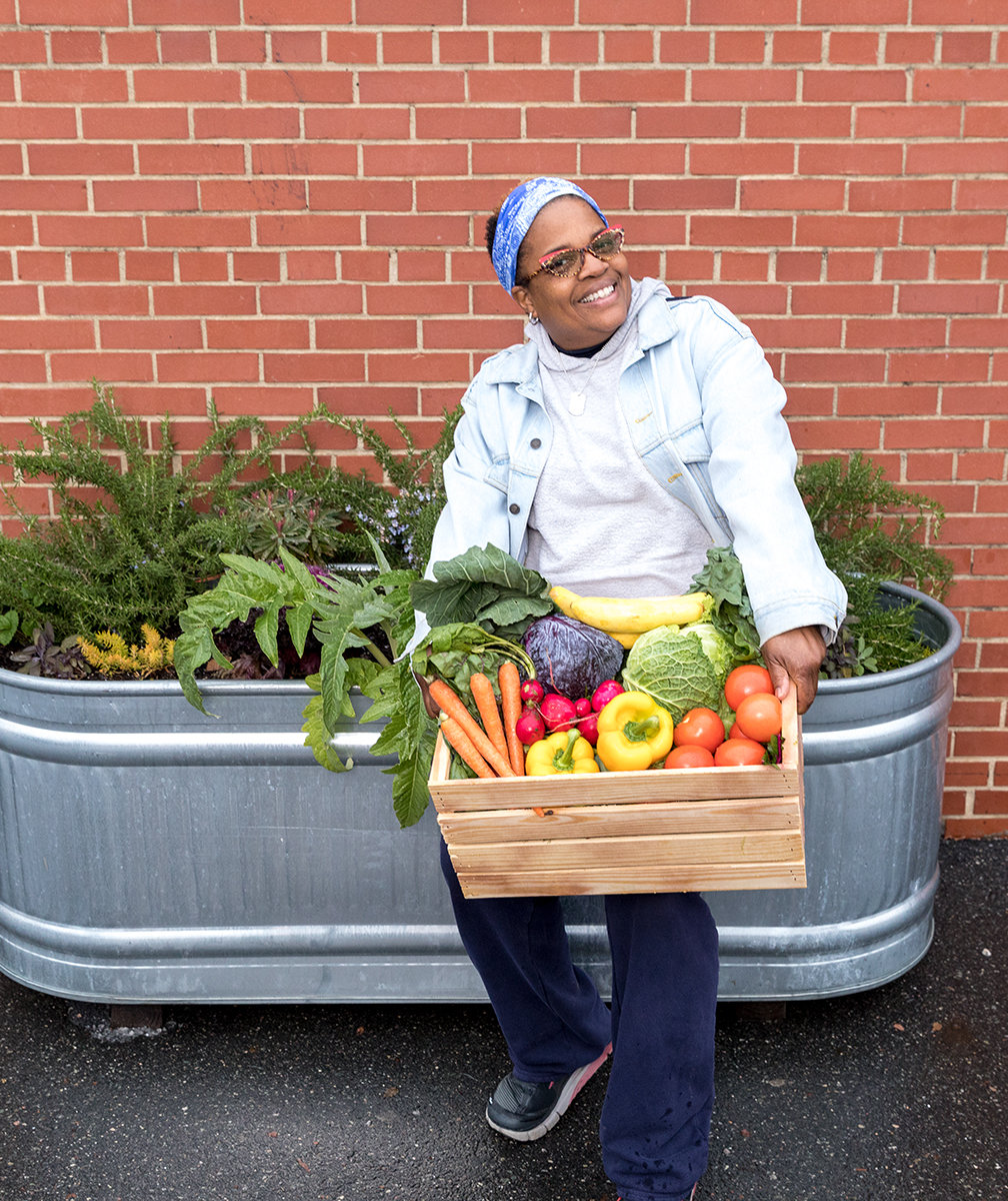Nadine Ford Is Using Her Lifelong Love of Gardening to Feed Her Community