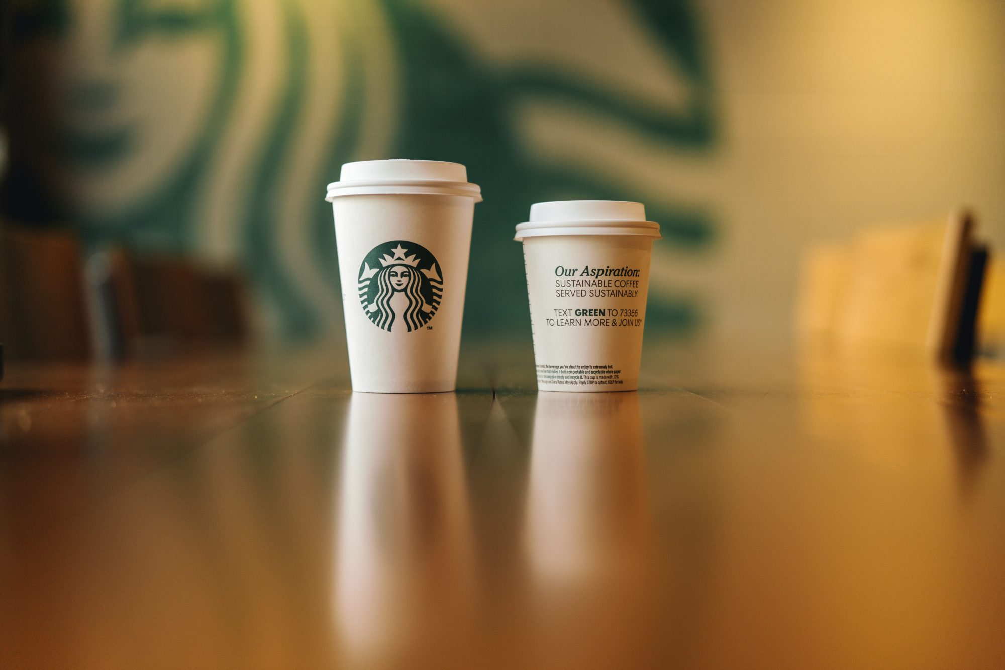 Starbucks Tests Compostable Cups