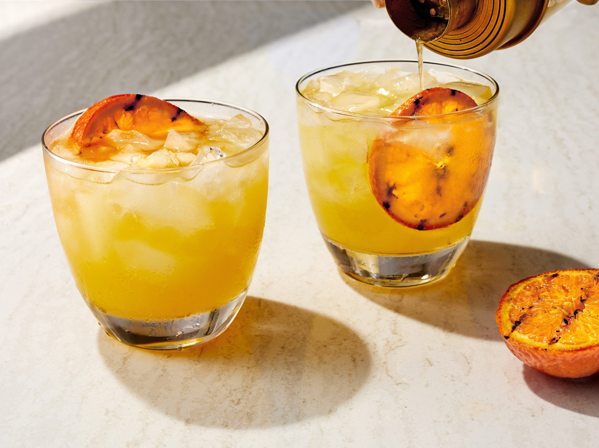 Charred Citrus Margaritas
