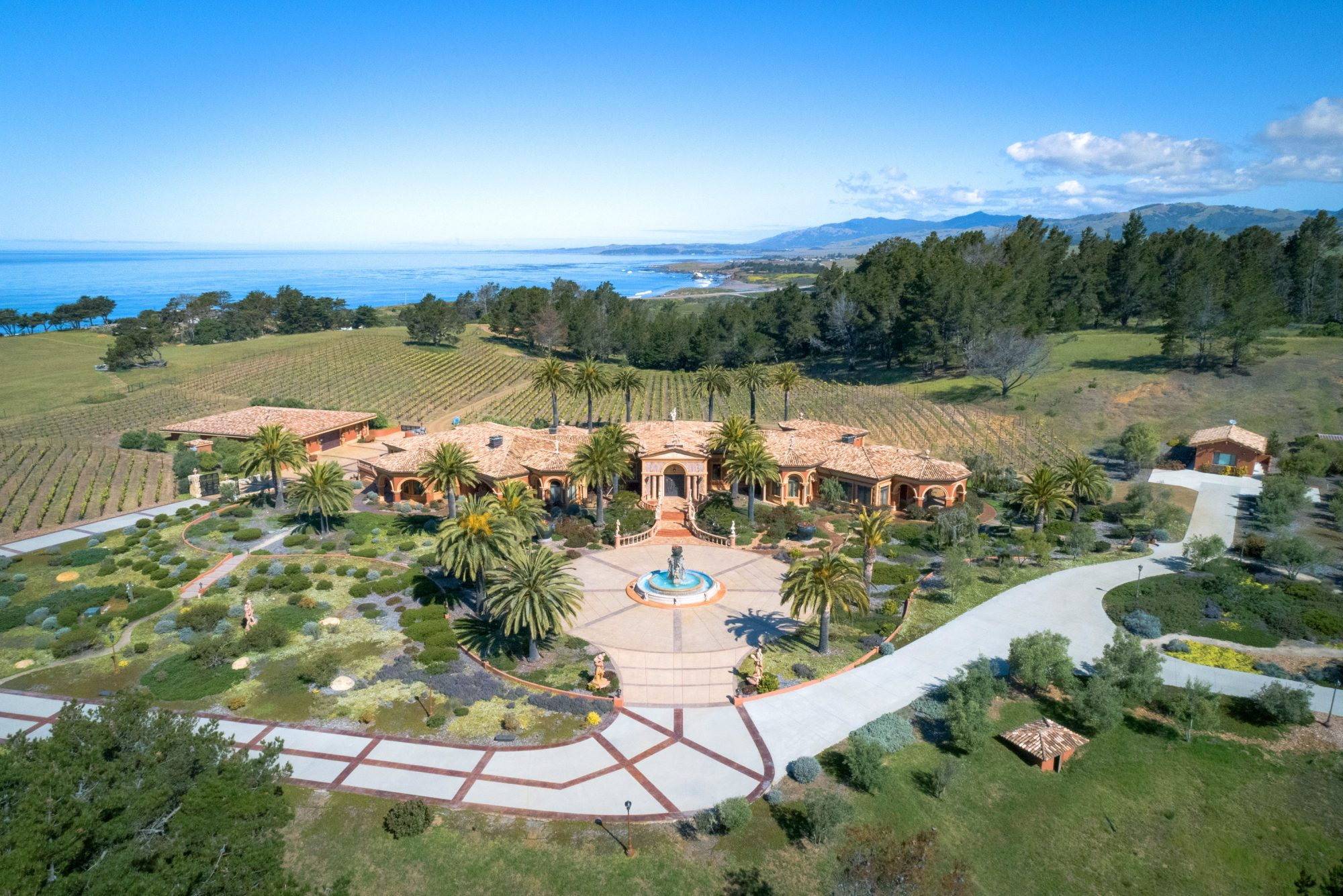 Cambria California Estate Auction Hero