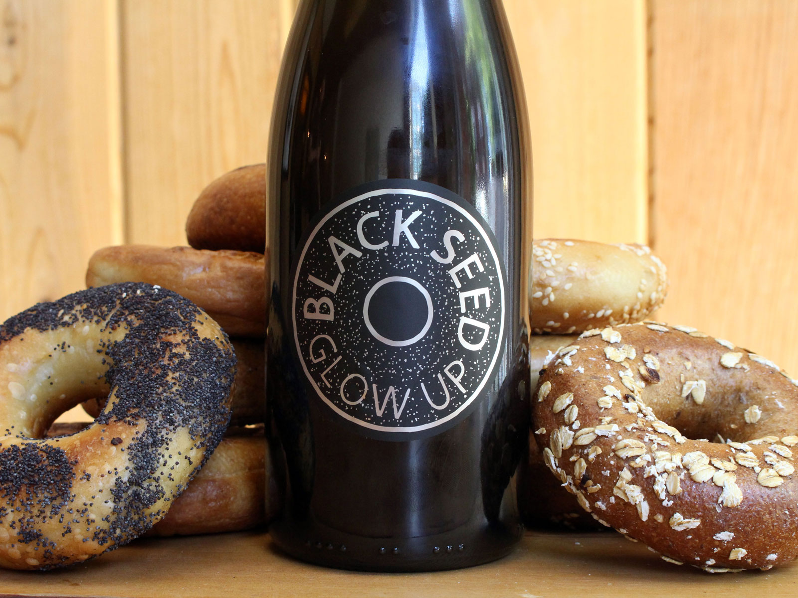 Black Seed and Folksbier Collaborate on a Beer Brewed With Bagels