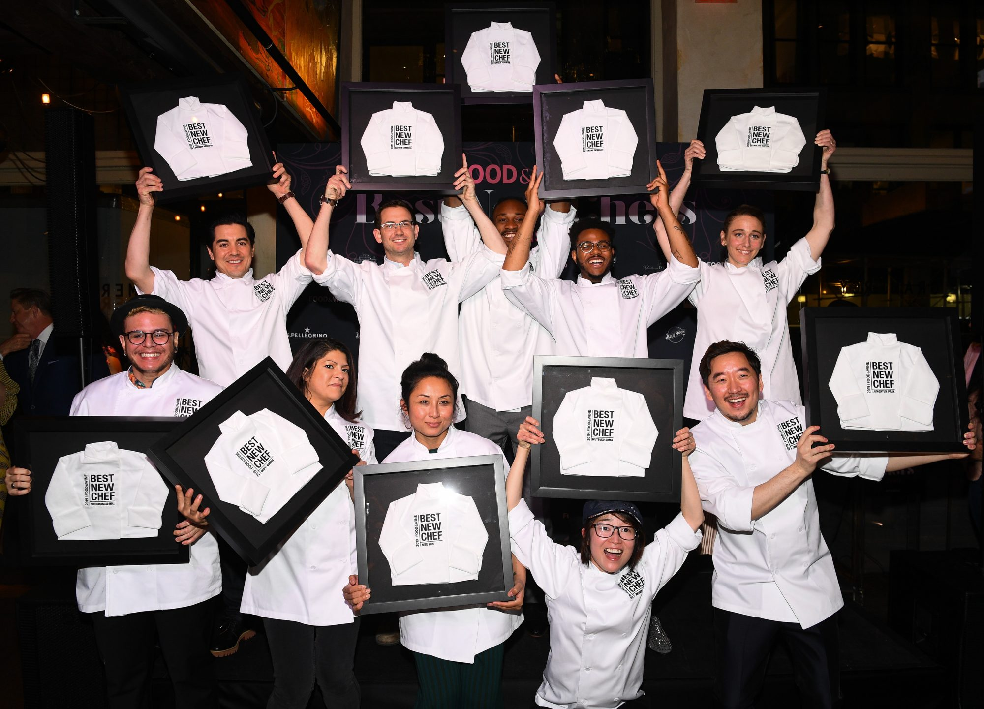 The 2019 Class of Best New Chefs Celebrate at Gramercy Tavern