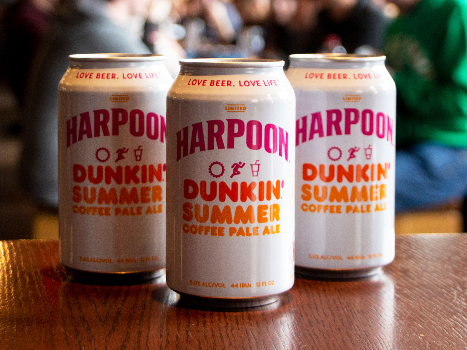 Dunkin' and Harpoon Brewery Reunite to Release a Coffee Beer for Summer