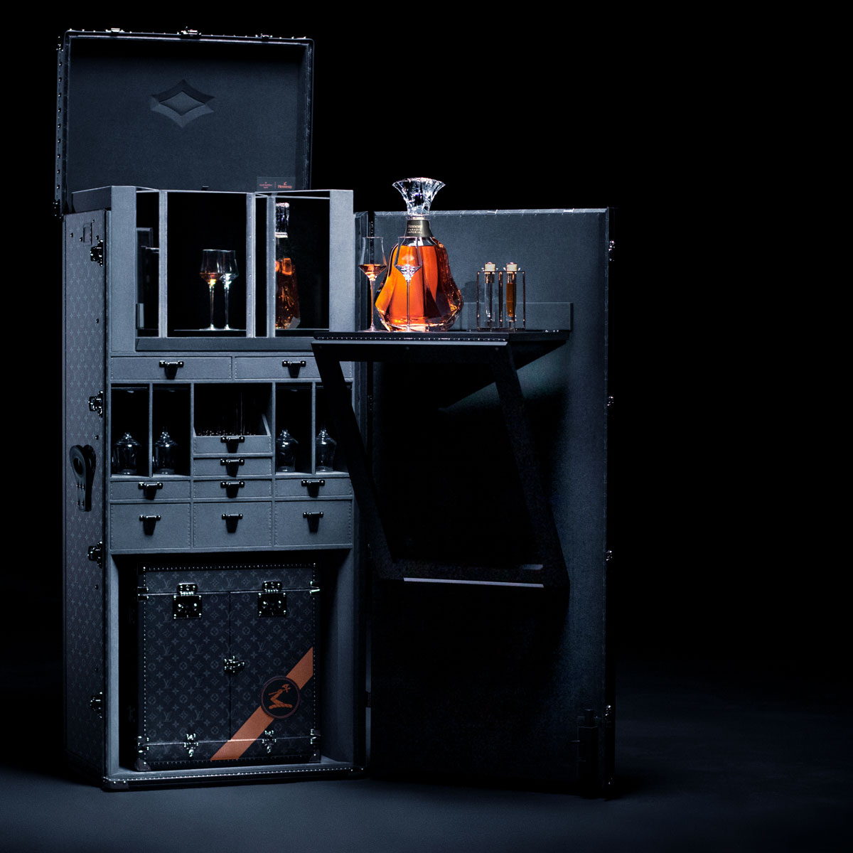 Hennessy Paradis Imperial Trunk by Louis Vuitton
