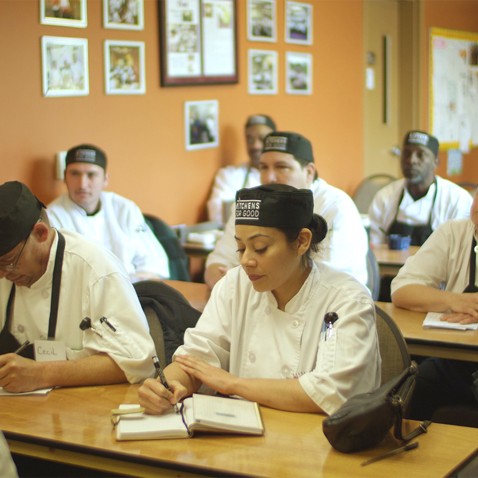 This Culinary School Teaches Formerly Incarcerated People Knife Skills and Life Skills