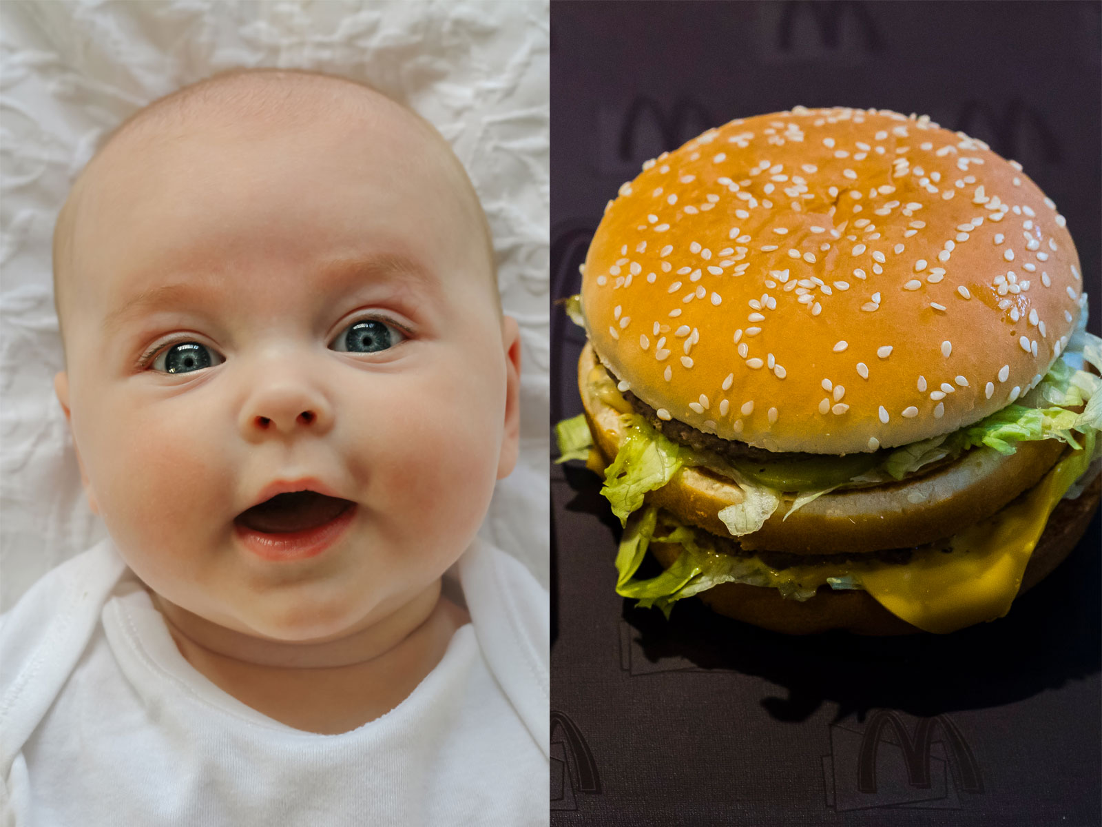 This Very Real Website Tracks Your Baby's Size With Big Macs