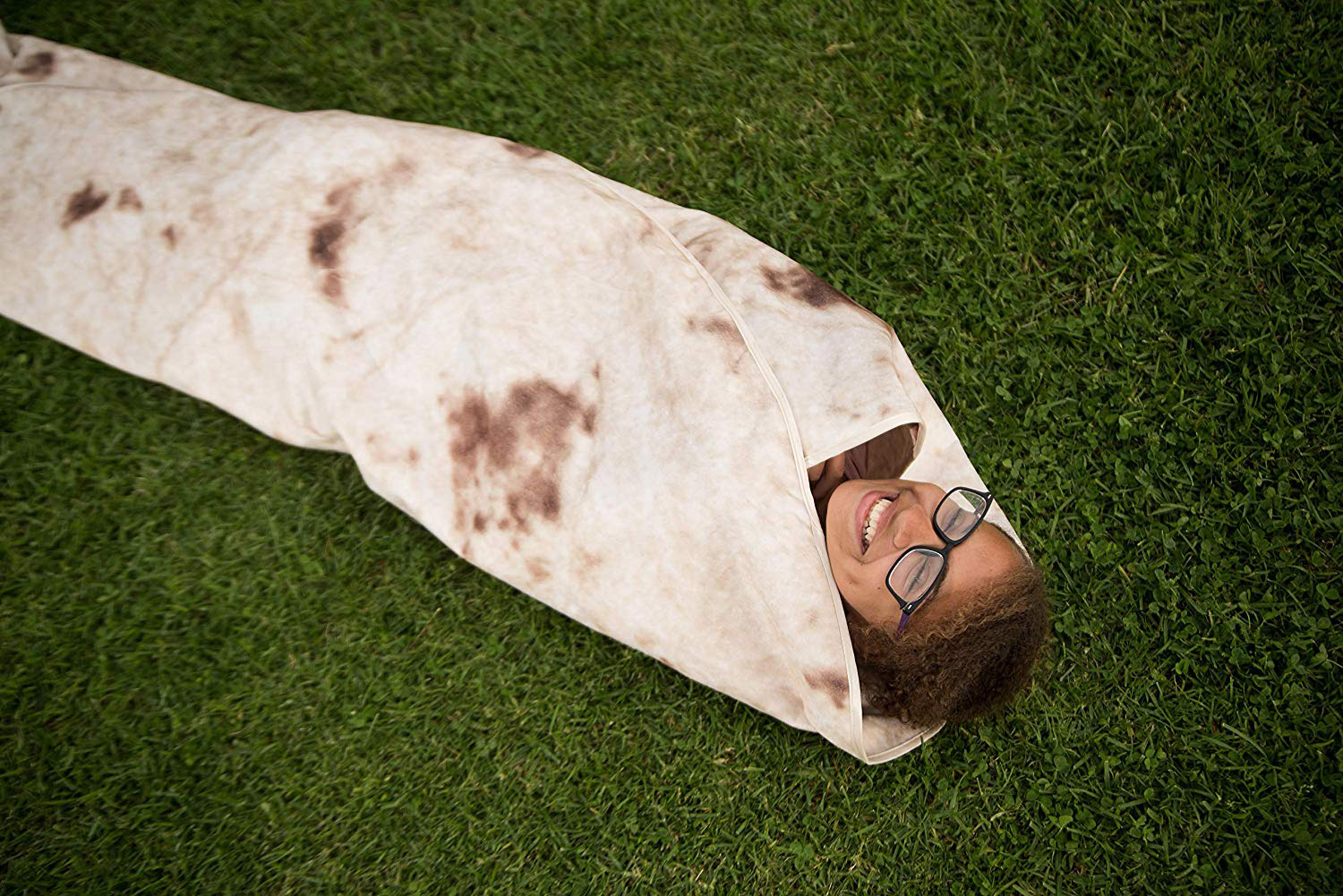 Ever Wanted To Be a Human Burrito? Now You Can With These Tortilla Print Blankets That Are Going Viral