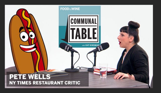 Communal Table Podcast: Pete Wells