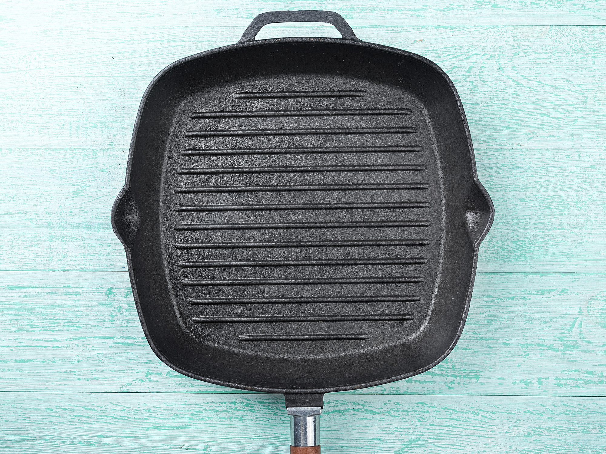 how to clean a grill pan cooking light. Black Bedroom Furniture Sets. Home Design Ideas