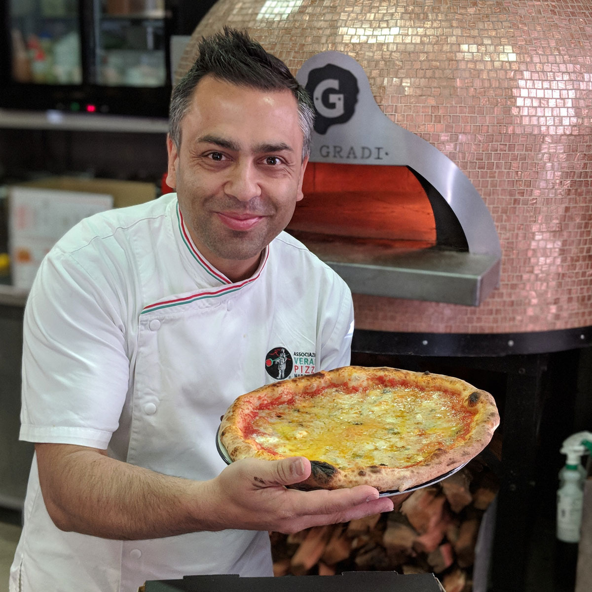 guinness world record greatest variety of cheese on a pizza