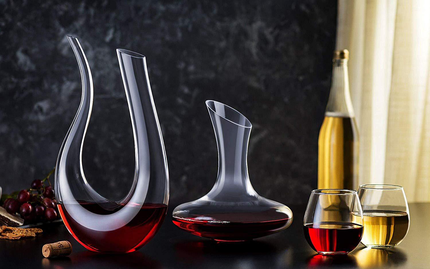 These Elegant Stemless Wine Glasses Have Over 1,000 Rave Reviews on Amazon