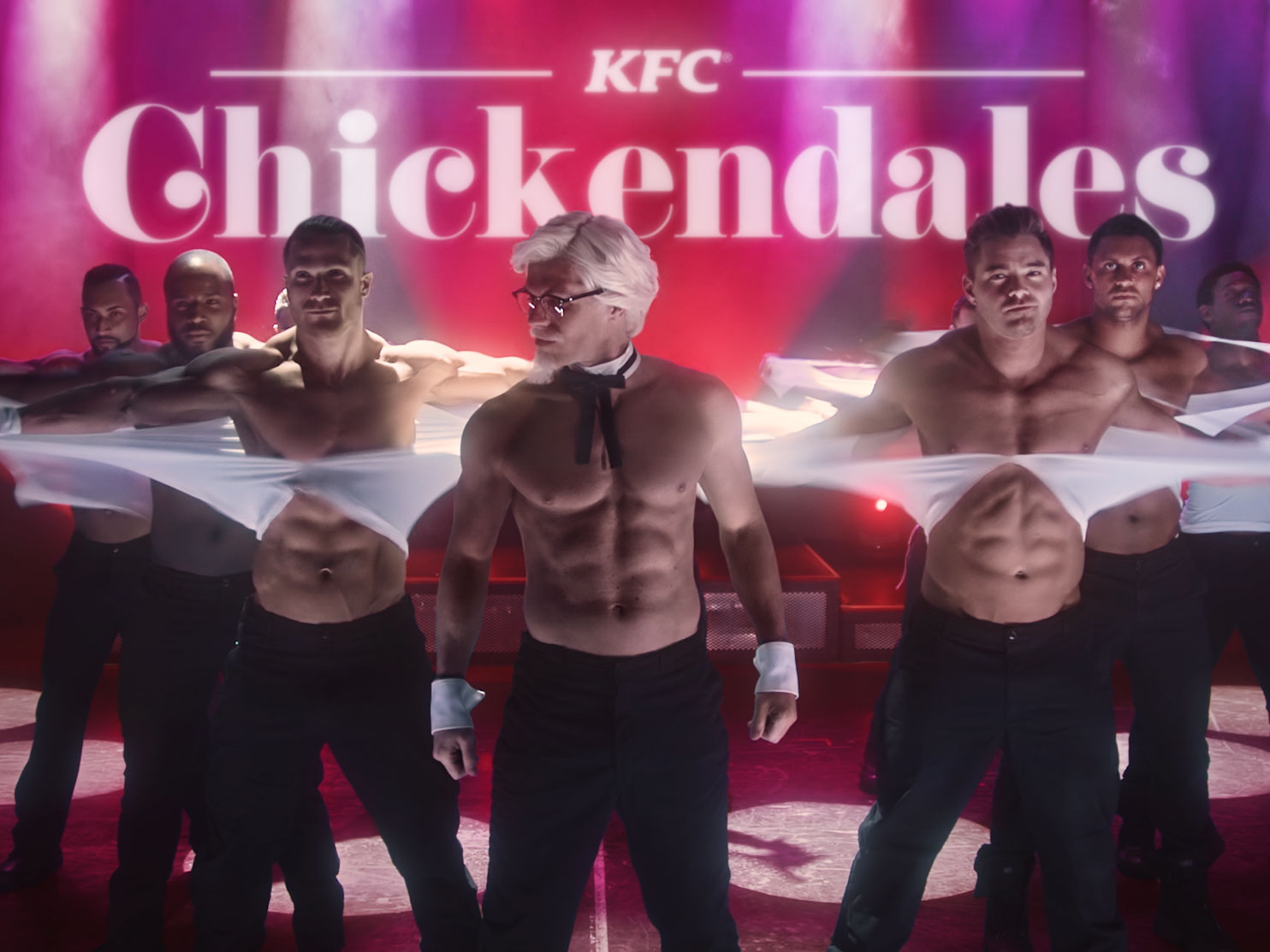 KFC's Mother's Day Gift to Moms Everywhere: 'Chickendales' Dancers