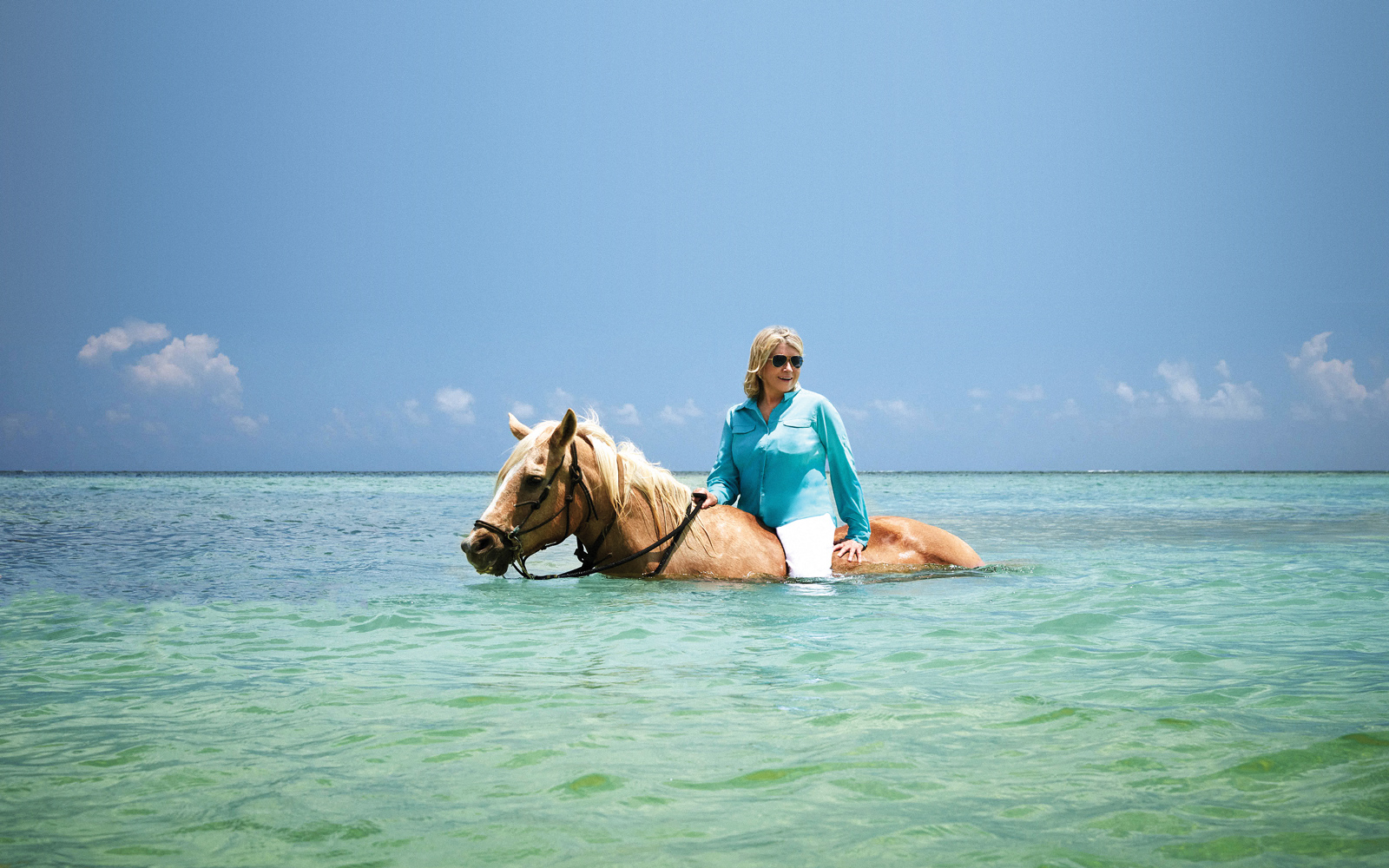 Martha Stewart's New Cruise Excursions Include Horseback Riding in the Ocean and Local Cooking Classes
