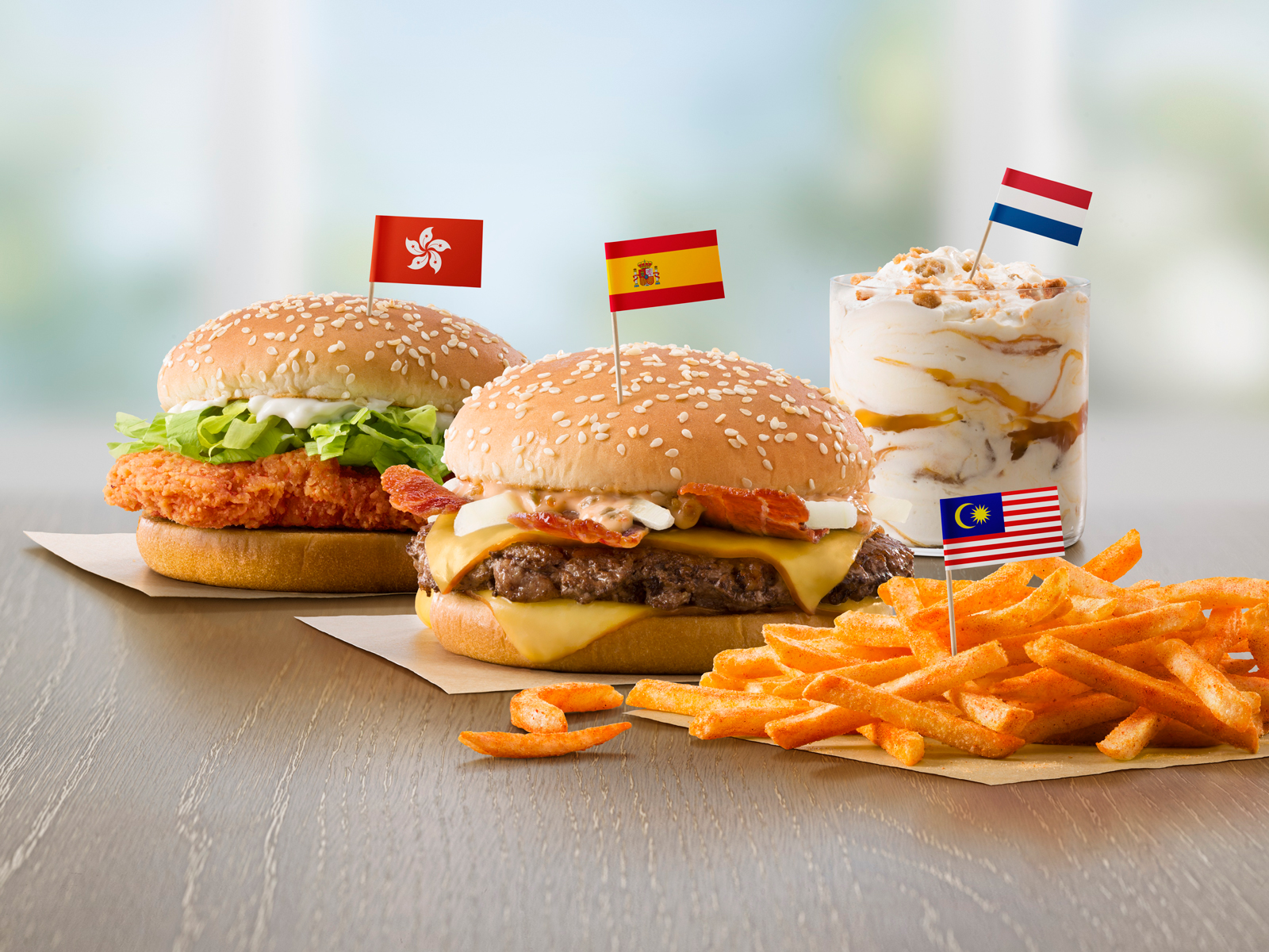 McDonald's Tests Four International Menu Items in U.S. Restaurants