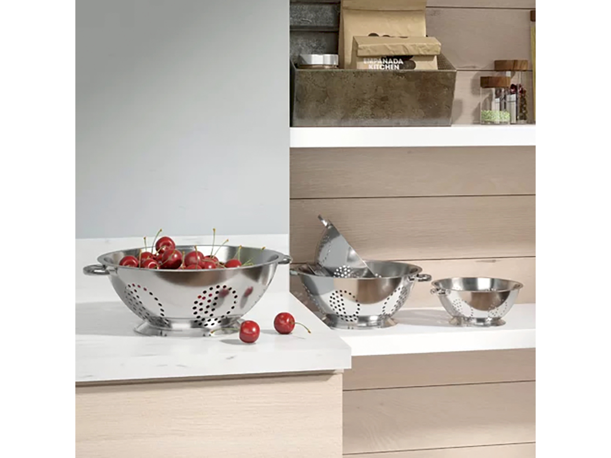 Mint Pantry 4-Piece Stainless Steel Colander Set