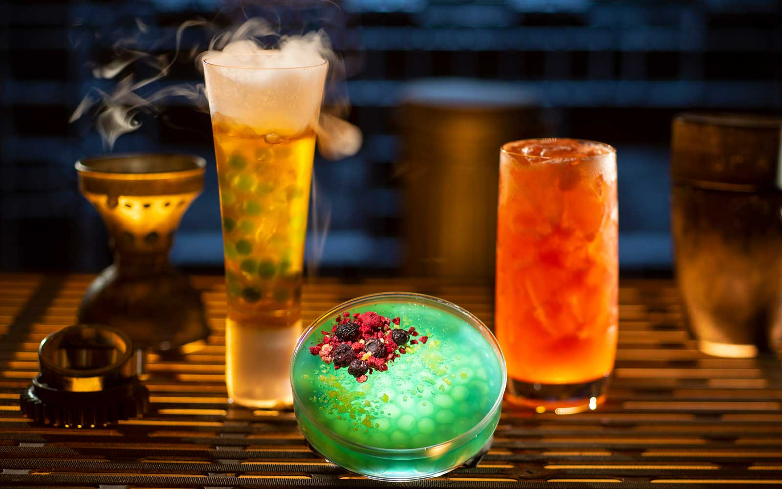 Star Wars Galaxy Edge at Disneyland - Alcoholic Beverages