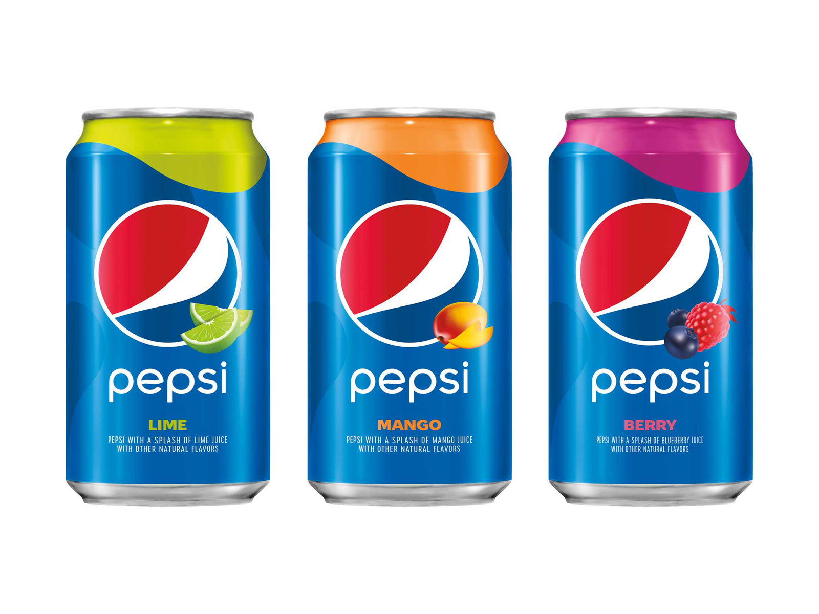 We Tried Pepsi's Three New Fruit Flavors
