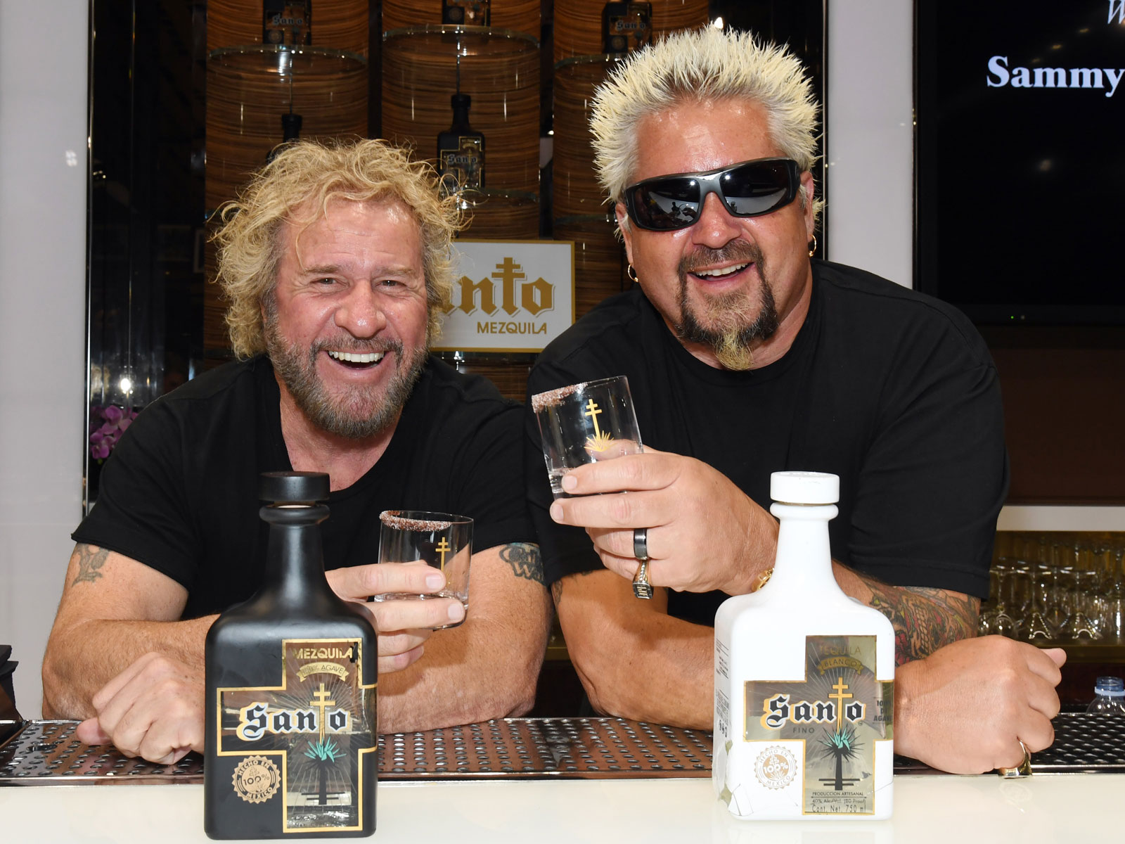Sammy Hagar and Guy Fieri Team Up on a Tequila
