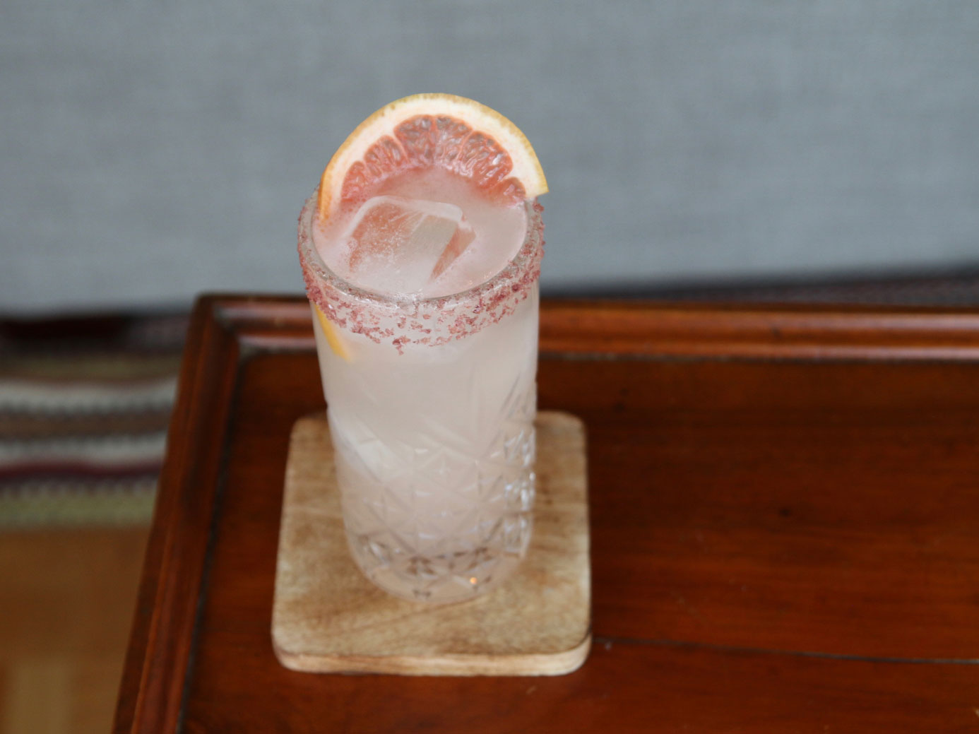 schochu liquor in a mixed cocktail