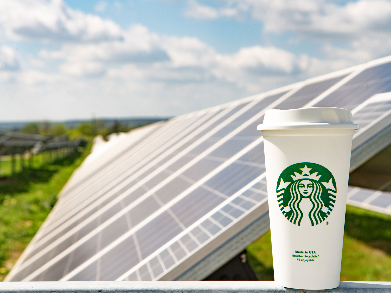Starbucks Invests in Solar Power for 360 Texas Locations solar plan