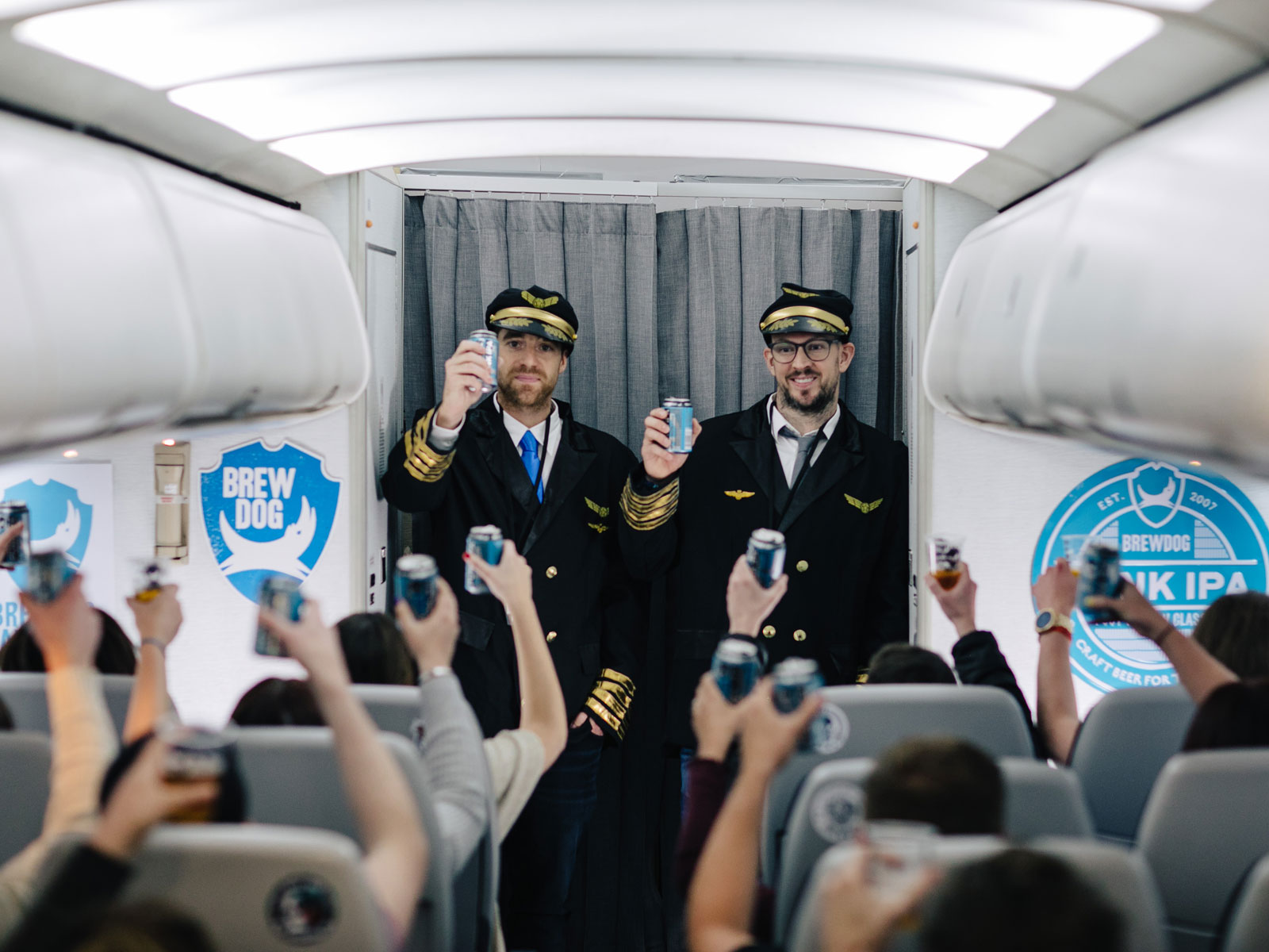 BrewDog Airlines Announces Two More Flights, Including One from the U.S. to Scotland