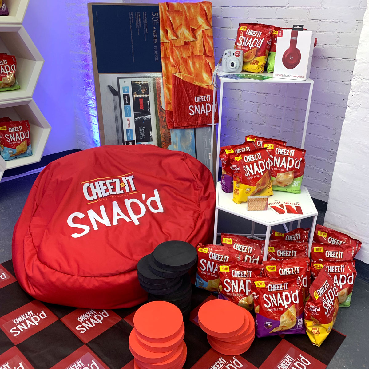 Take a Peek Inside the Cheez-It Bunker Filled with a Year's Supply of the Brand's Newest Snack