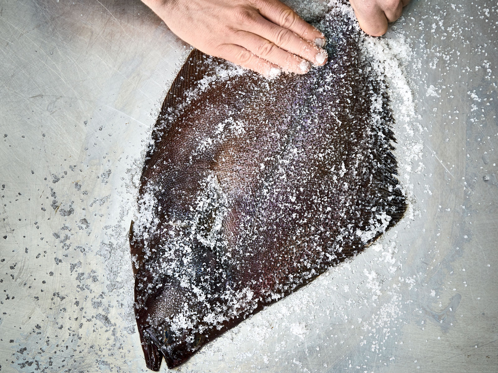 How to Grill Whole Flatfish