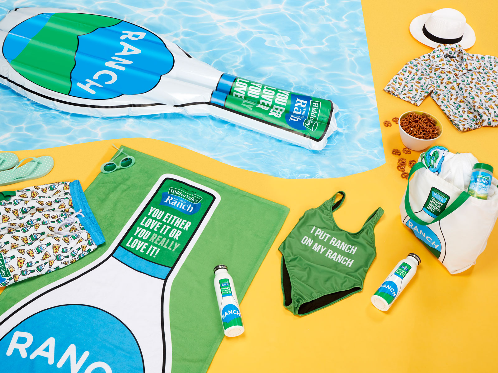 Hidden Valley Released a Line of Ranch-Themed Summer Clothes and Accessories