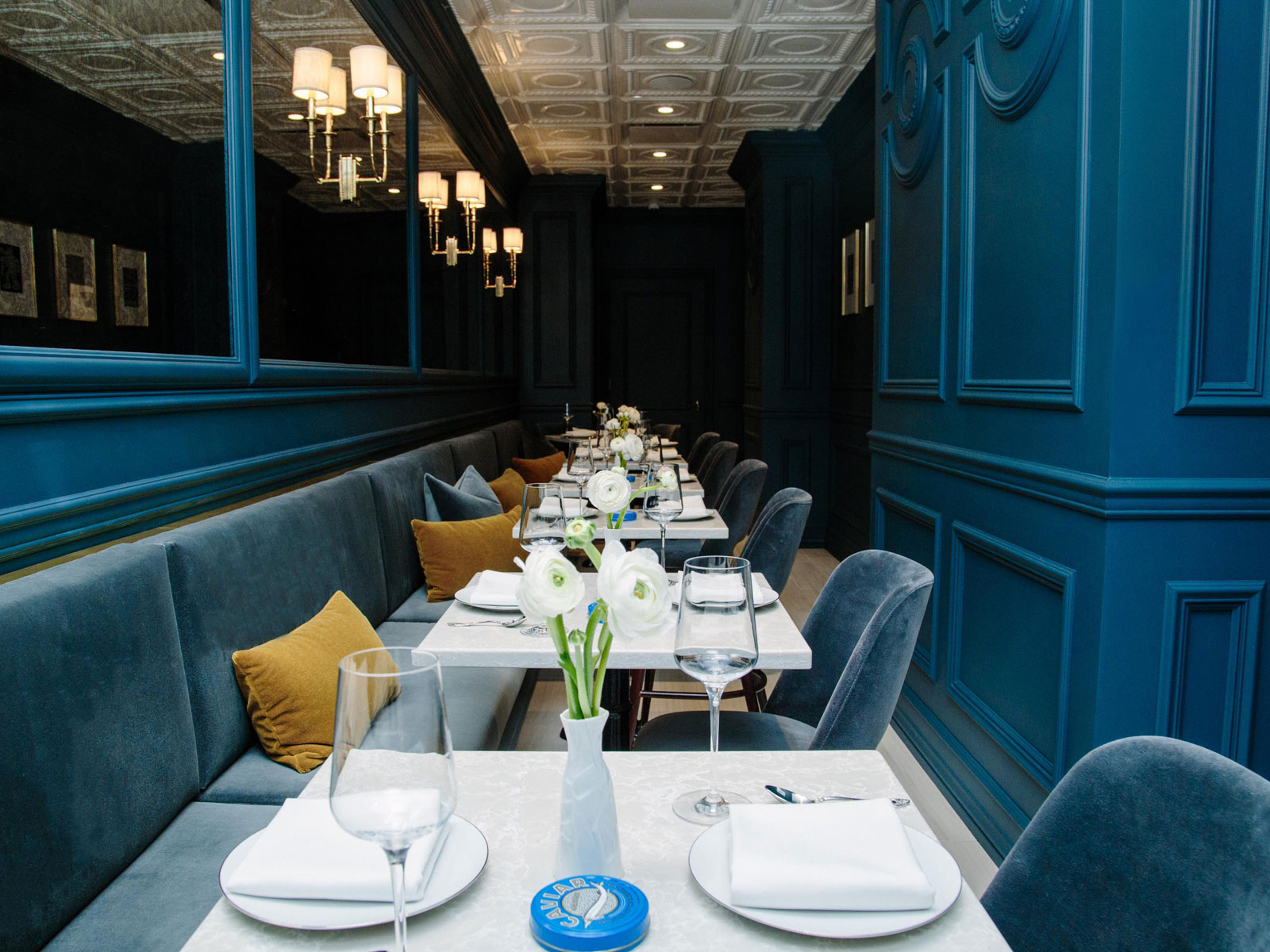 Inside New York's First Caviar Speakeasy