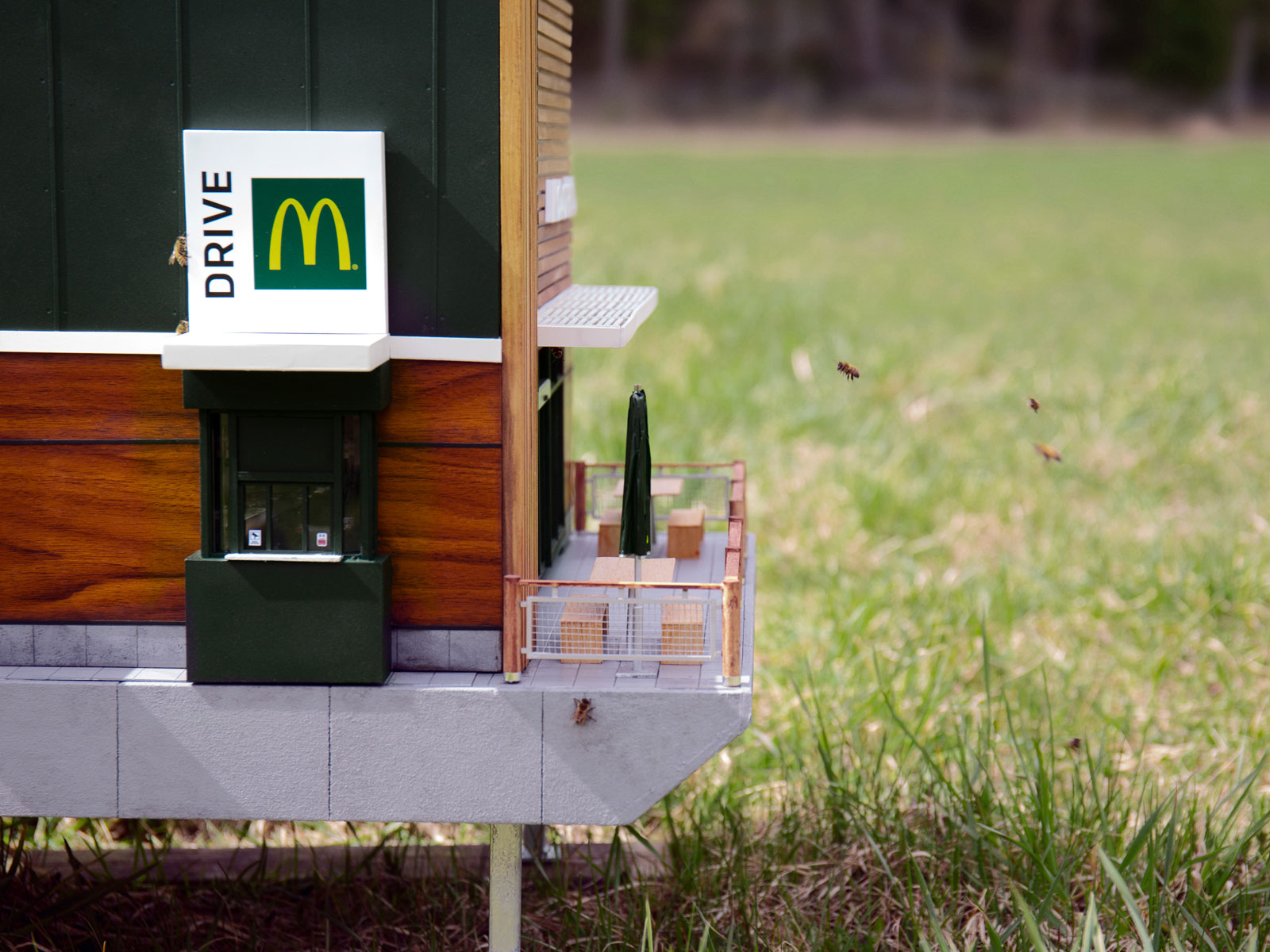 World's smallest McDonald's opens its doors