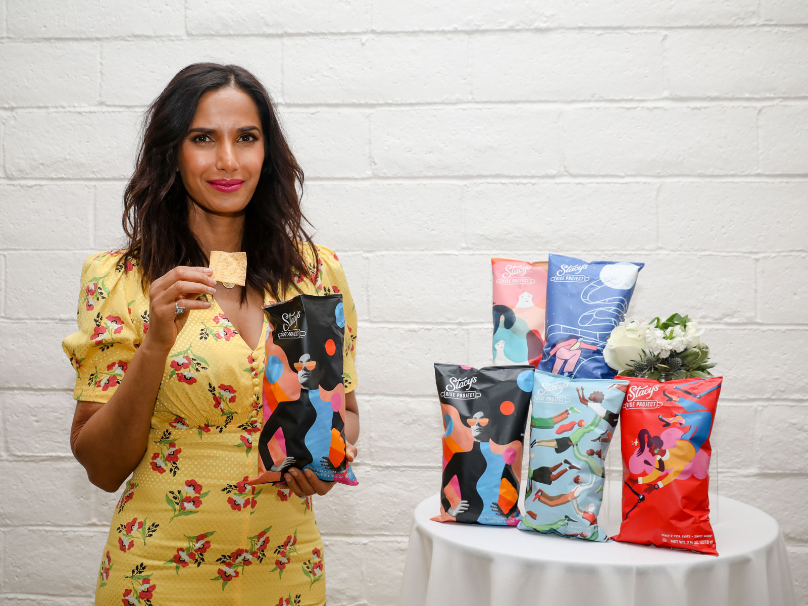 Padma Lakshmi Joins Initiative to Mentor Female Entrepreneurs in the Food Industry