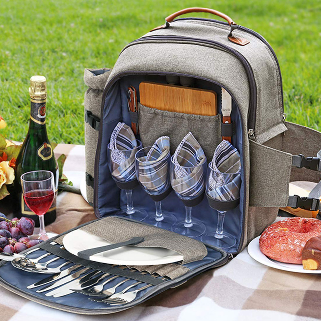 The 6 Best Picnic Backpacks to Bring Everywhere This Season