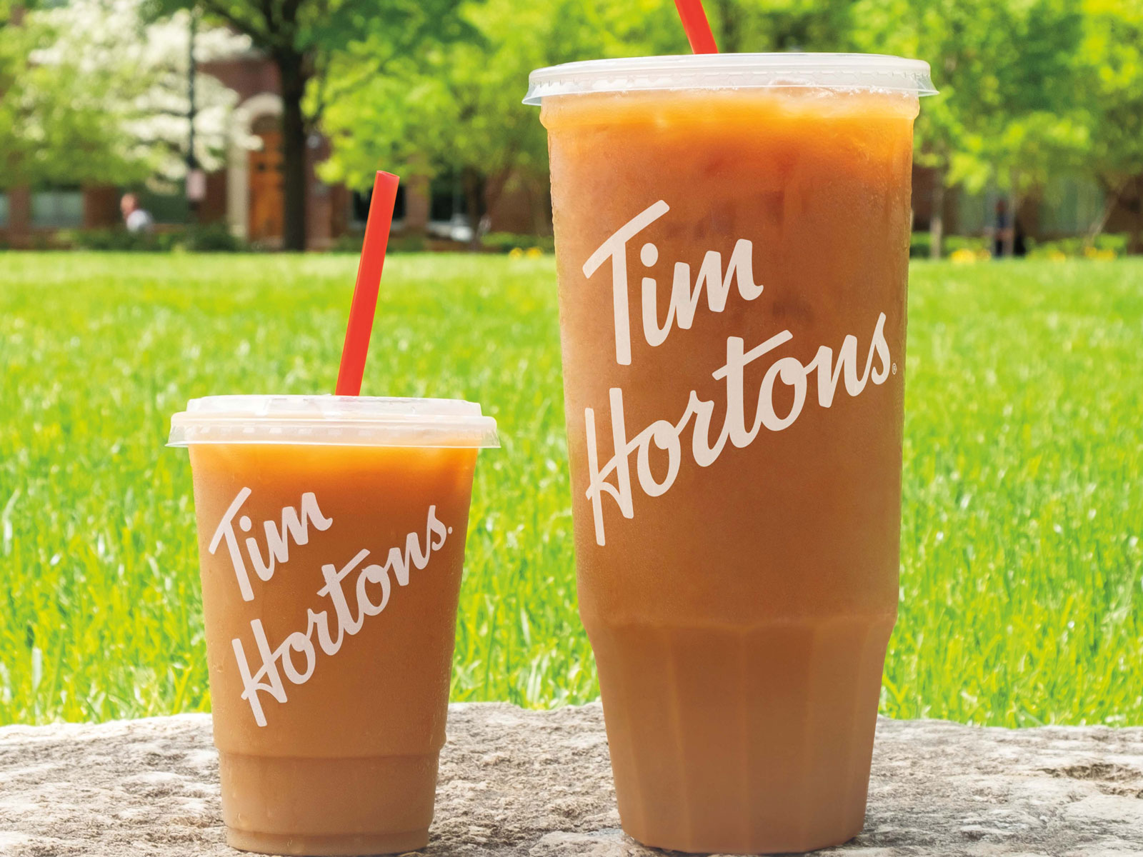 Tim Hortons Wants to Give Moms a 52-Ounce Cup of Iced Coffee for Mother's Day