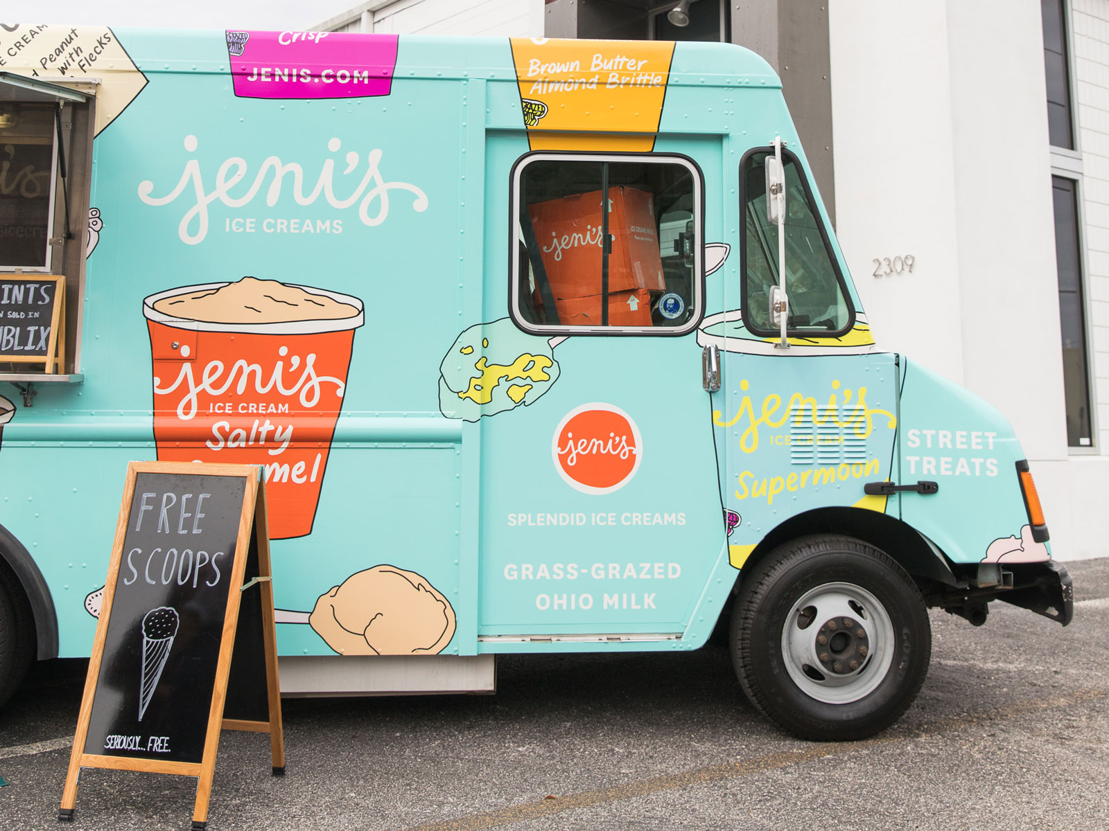 Jeni's Splendid Ice Cream Truck