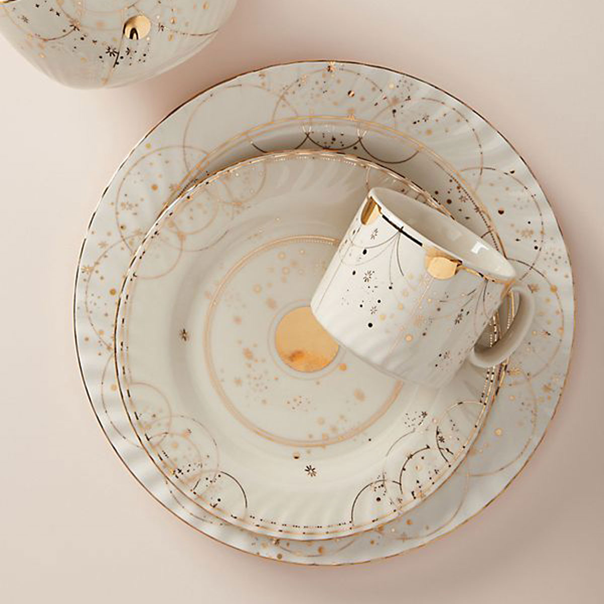 celine plates from anthropologie