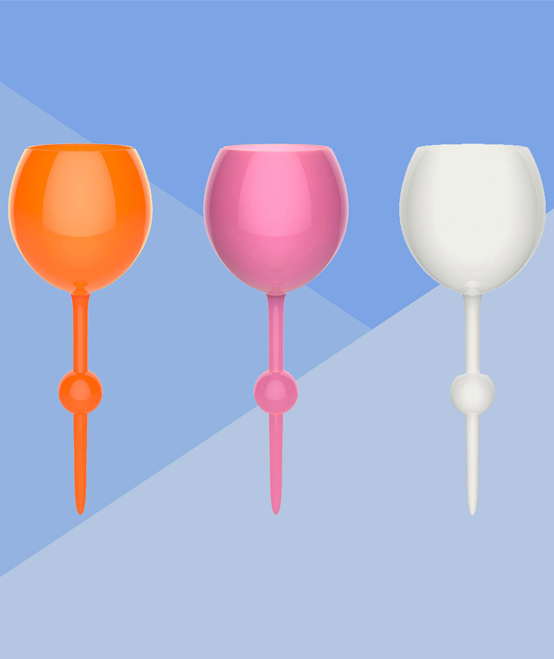 Cheers! These Floating, Spill-Proof Glasses Make It So Easy to Drink Wine at the Beach and Pool