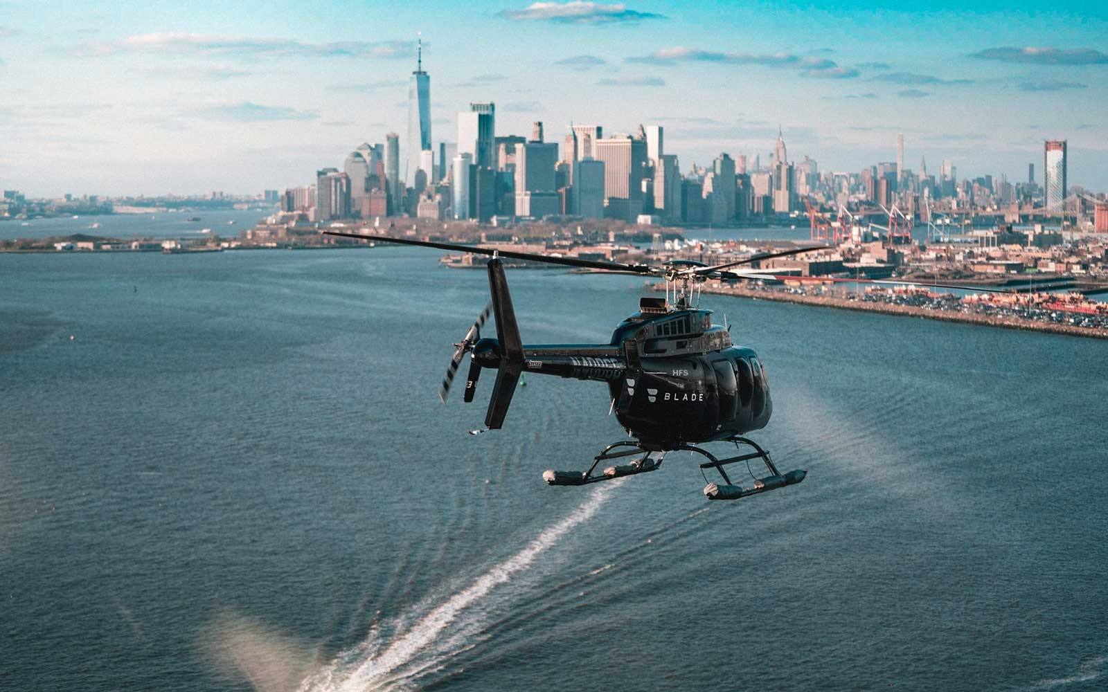 There's Now a Helicopter Service That Will Get You to Any NYC Airport in 5 Minutes
