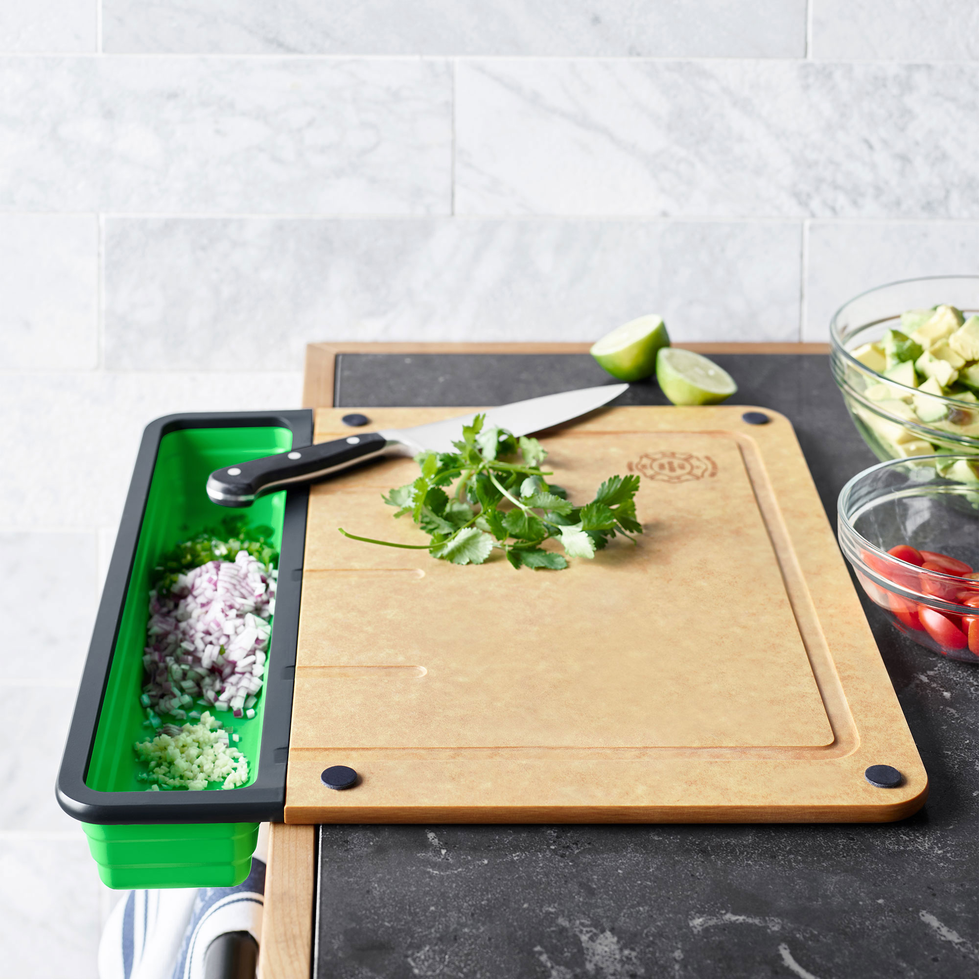 That Genius Cutting Board From Sunday's Shark Tank Is Now at Williams Sonoma