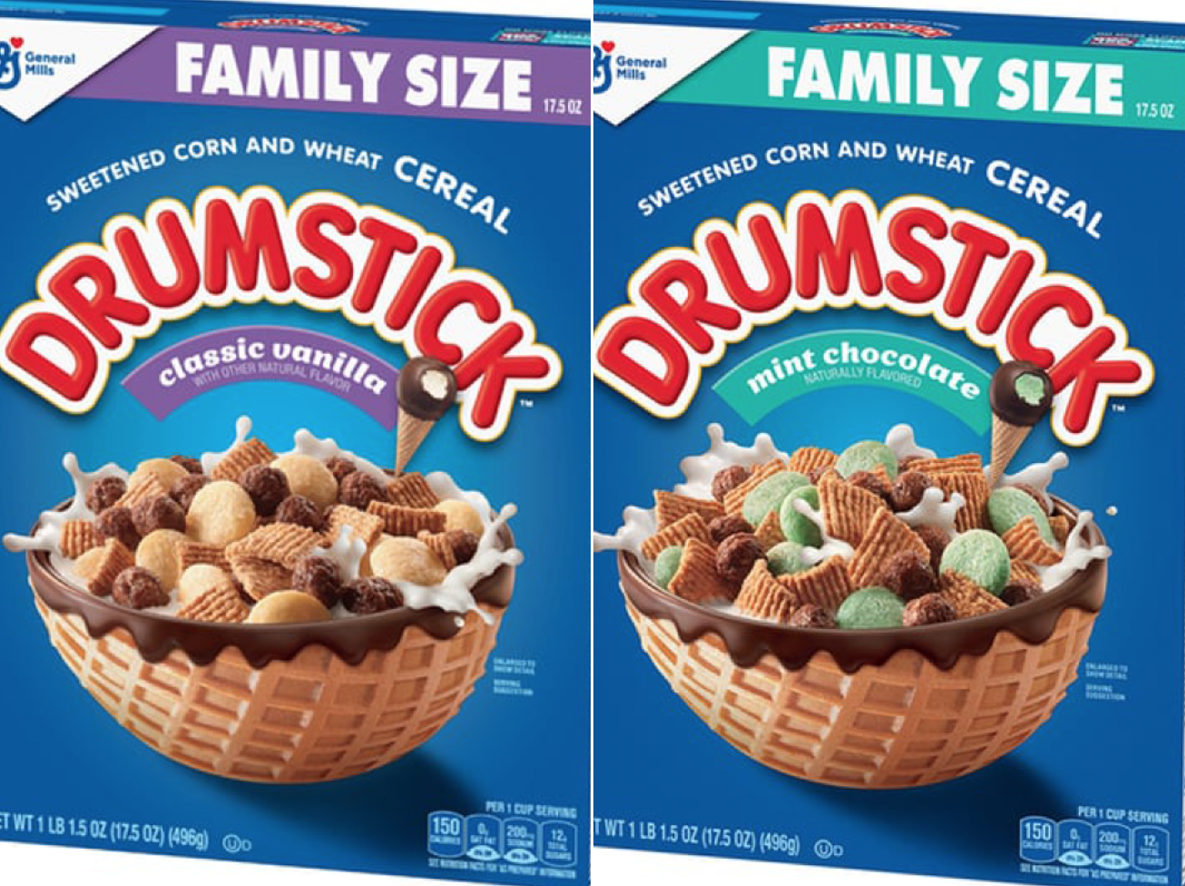 Drumstick Ice Cream Cones Are Now a Cereal