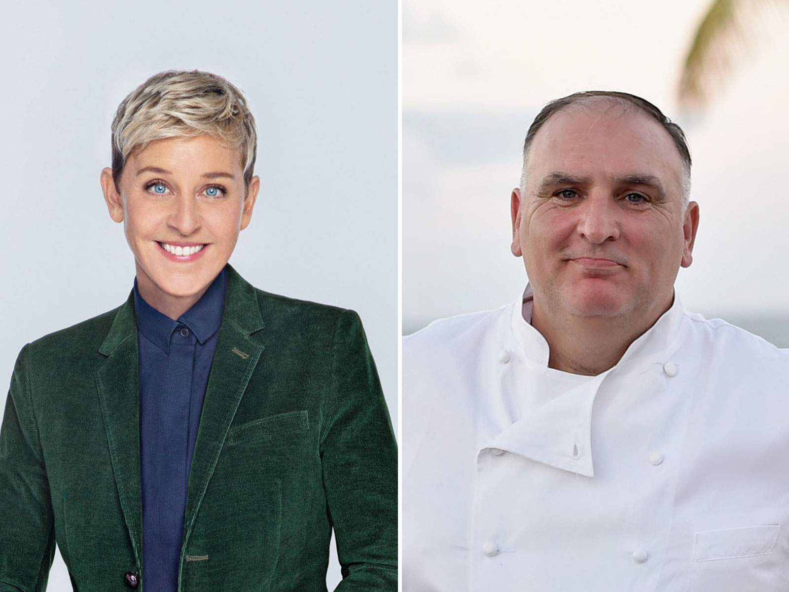 Watch José Andrés and Ellen DeGeneres Make Vegan Pisco Sours and Squash Blossom 'Cheeseadillas'