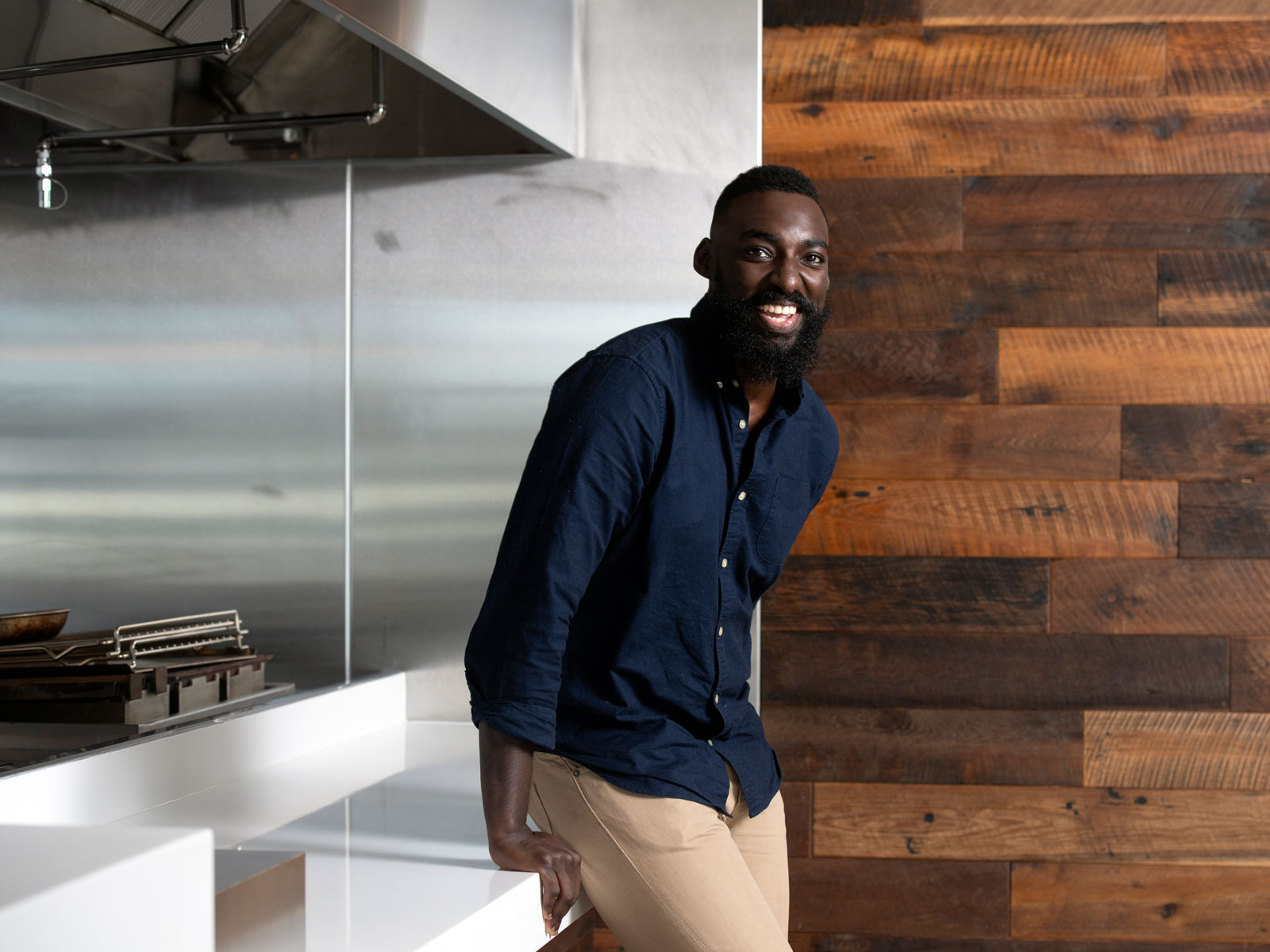 Eric Adjepong Made His 'Top Chef' Finale Meal Anyway