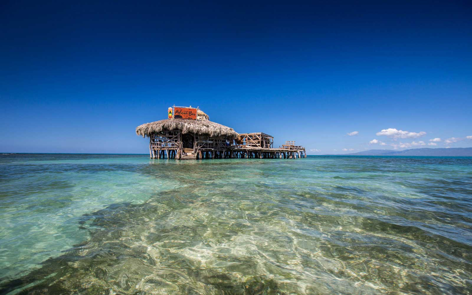 You Can Get an All-expenses Paid Vacation to Jamaica to Bartend at This Caribbean Bar in the Ocean