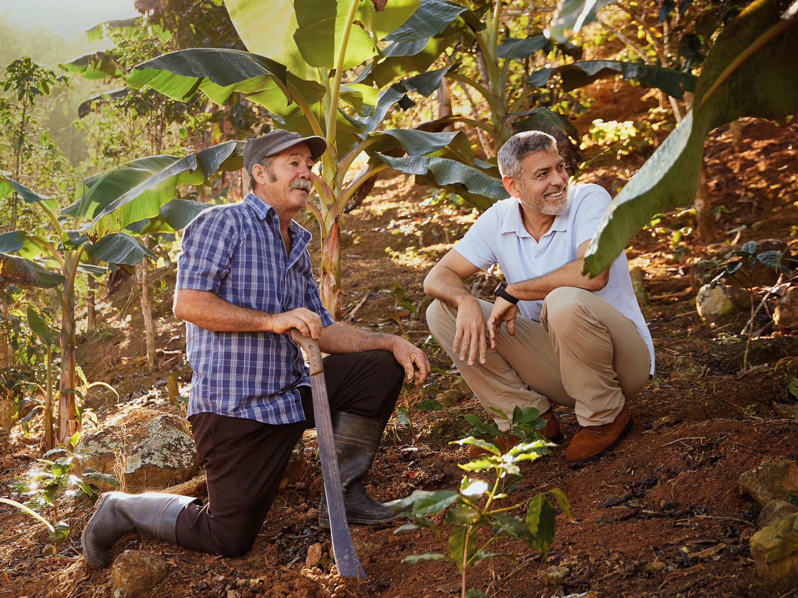 Watch: George Clooney Visits Puerto Rico's Coffee Growers With Nespresso