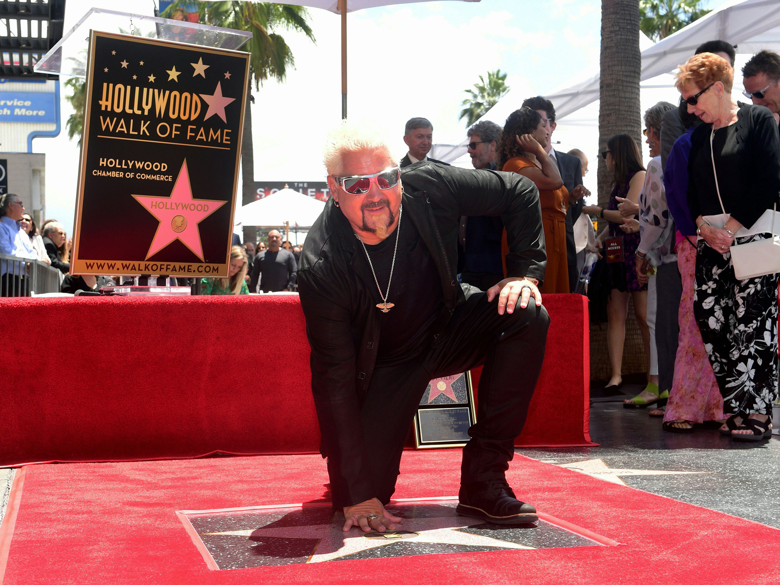 Guy Fieri Accepts Walk of Fame Star: 'Thank You to the Residents of Flavortown'