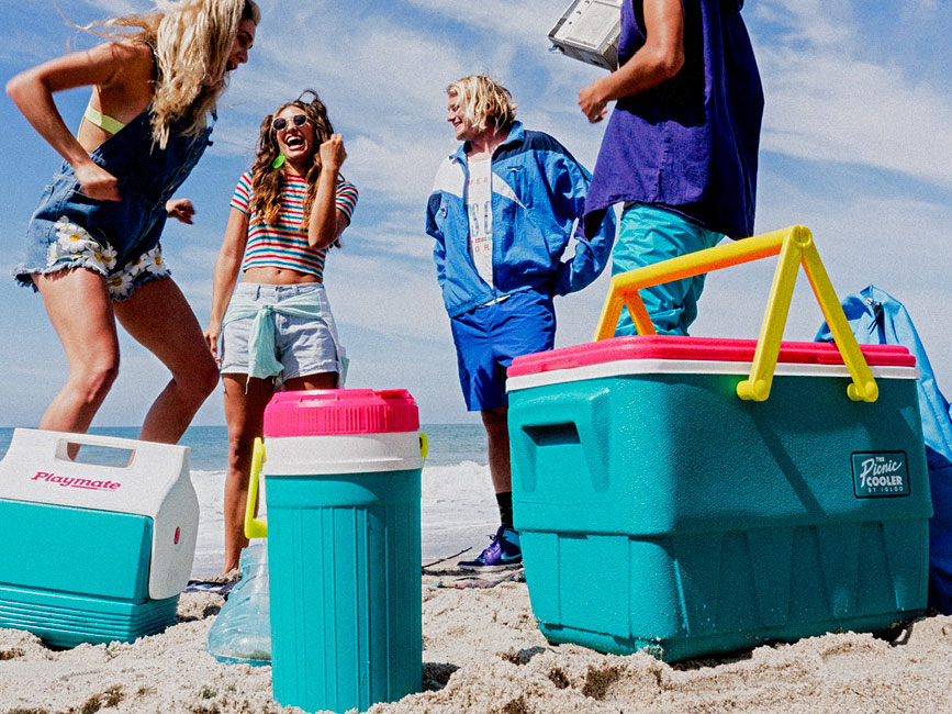 These Throwback Coolers Are the Colorful Containers Every '90s Kid Needs This Summer
