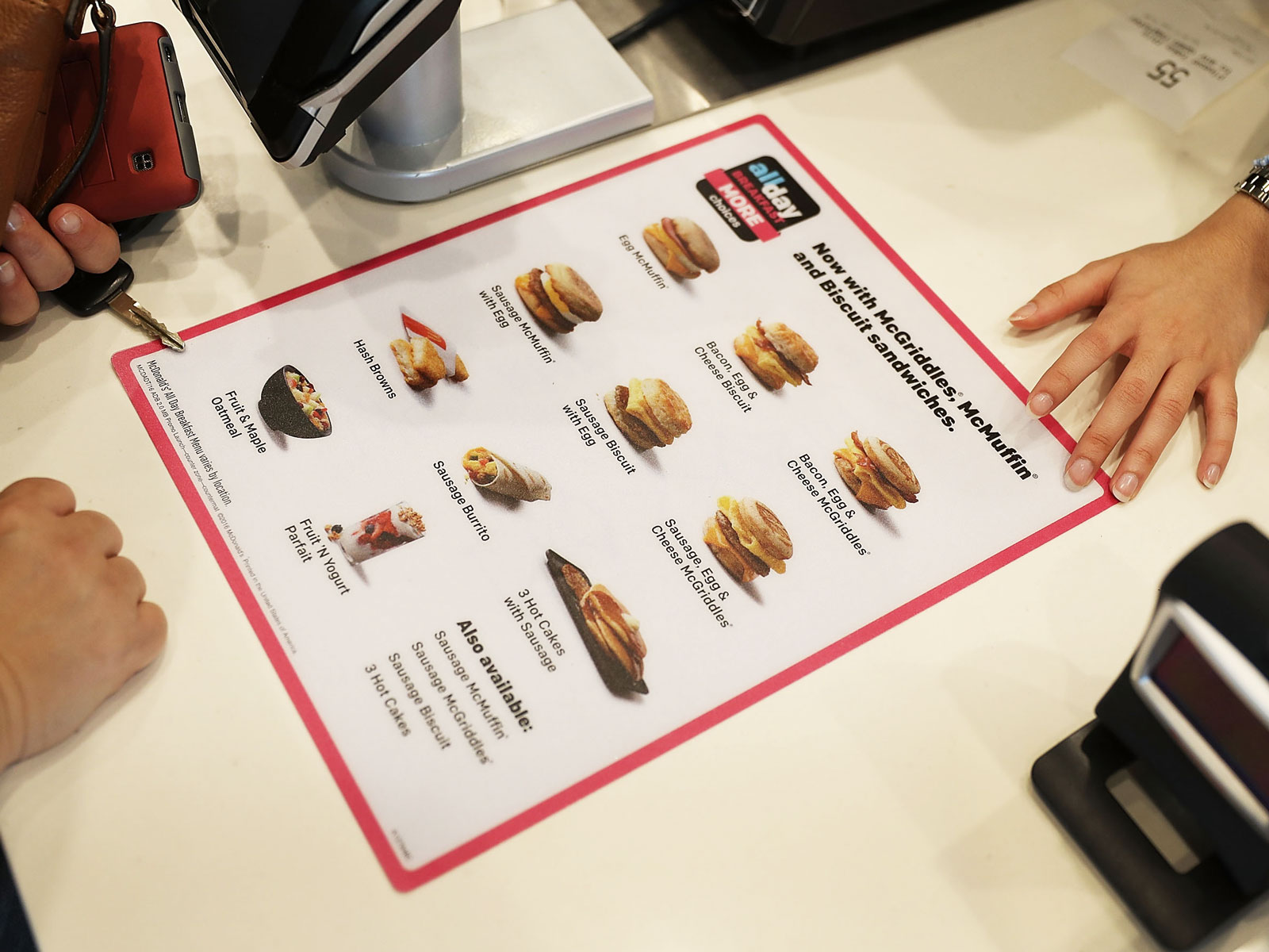 McDonald's Will Allow Franchises to Streamline Their All-Day Breakfast Menus