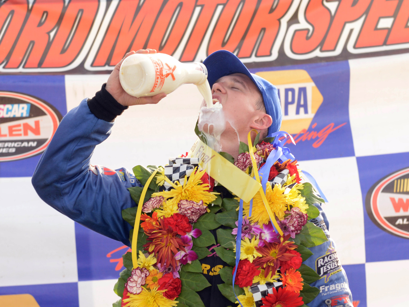 NASCAR Drivers Revealed Which Kind of Milk They'd Prefer to Drink If They Win the Indy 500