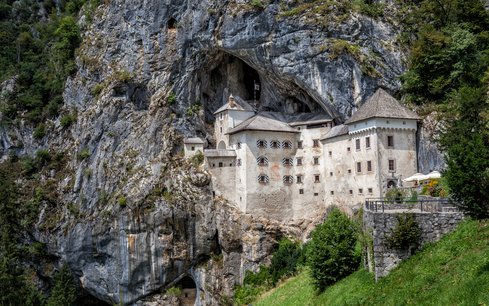 This Castle in Slovenia Was Built Into the Mouth of a Cave