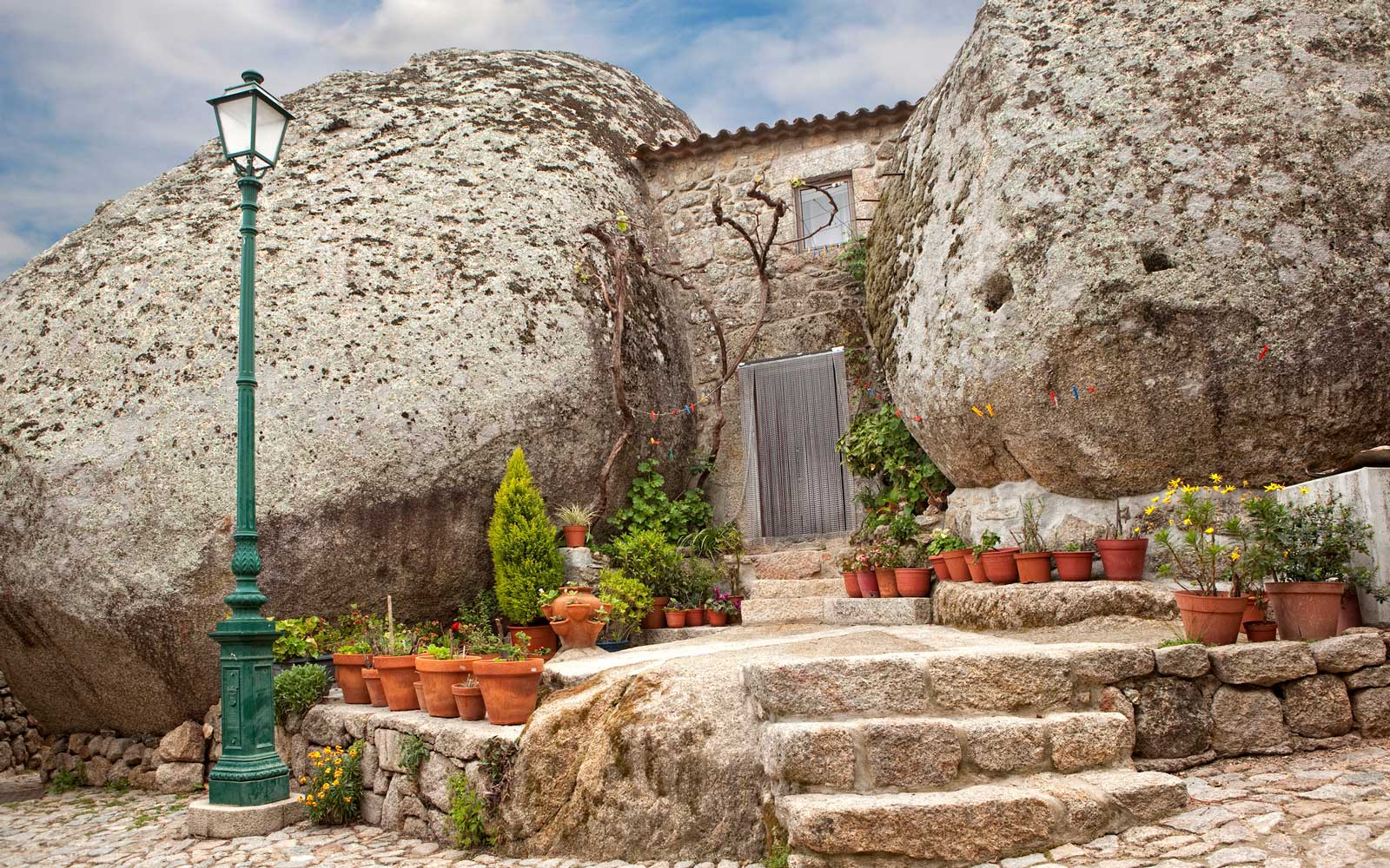 These Houses in Portugal Are Built Into Giant Boulders